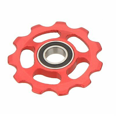 Mountain Bicycle Rear Derailleur Idler Pulley Jockey Wheel Part Accessory Red SP
