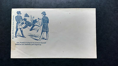 RARE 1860's Antique Civil War Envelope Anti Confederacy Generals