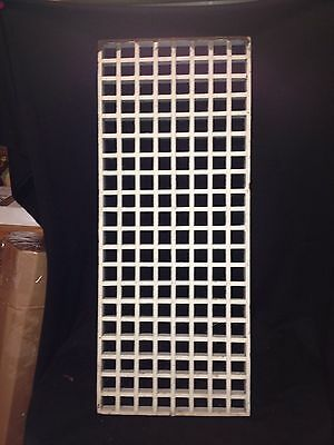 """1940's 23 3/4"""" Wooden Grate Vent Cover"""