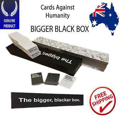 Cards Against Humanity THE BIGGER BLACKER BOX - NEW Design Official Container