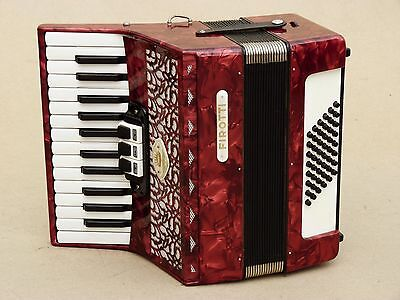 Very Nice Accordion Firotti 40 bass including case