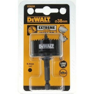 Dewalt Extreme Impact 38Mm Hole Saw Dt8259  New