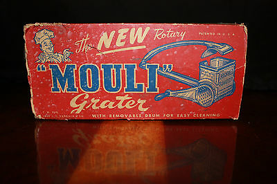 Vintage The New Rotary Mouli Grater with Original Box