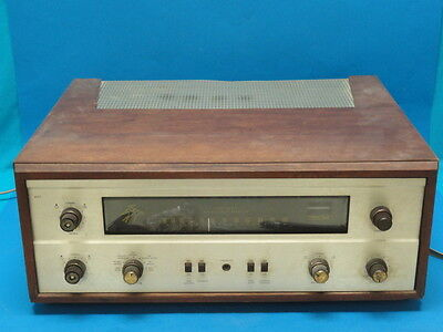 Fisher 400 Amp Tube Stereo Amplifier * Working