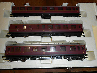 Hornby Oo 3X Coaches  Lms