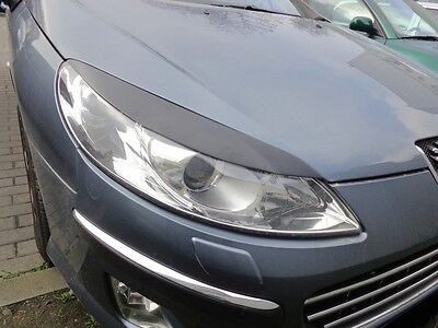 Peugeot 407 Casquettes De Phares (Abs) - Tuning-Gt