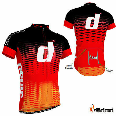 New Fashion Men's Cycling Half Sleeve Shirt Jersey Top Quality Polyester Wears