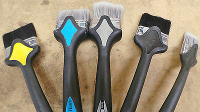 """Harris Paint Brushes 2.5"""" inch Curved x 112 Extendable Pole Brush"""