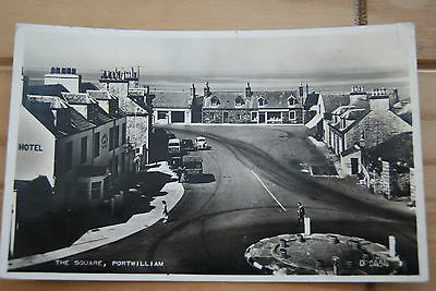 1959 The Square Port William, Wigtownshire Postcard
