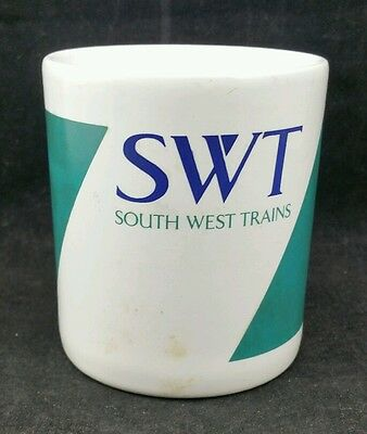 South West Trains Mug, SWT Logo, Used but in good condition.