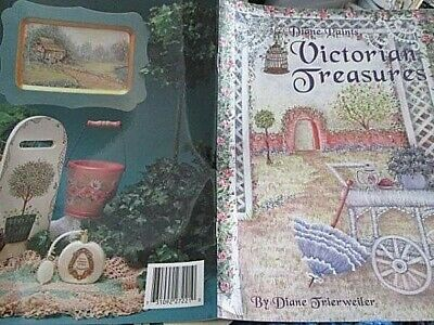 Diane Paints Victorian Treasures Painting Book-Trierweiler-Rose Arbor/Building S