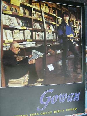 Gowan Touring This Great Dirty World Tour Program