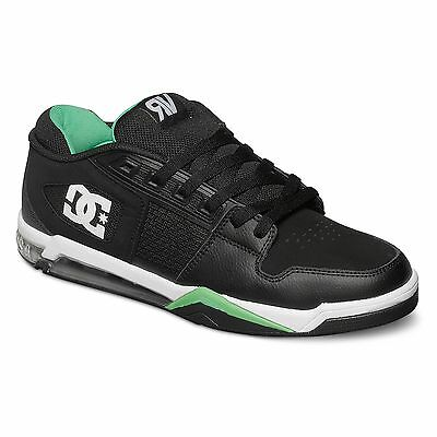 DC Shoes Ryan Villopoto Shoes / Trainers - Black / Green - UK 10 / Euro 44.5