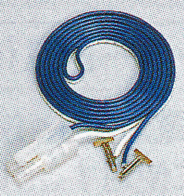 Kato 24-805 Terminal Joint (Blue/White Cable / 90cm) (N scale)