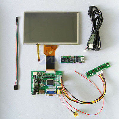 HDMI+VGA+2AV Lcd controller Board + 7 Inch 800*480 AT070TN92  LCD Panel