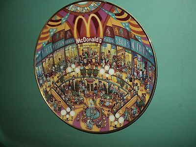 1994 McDonald's Golden Showcase Decorative Collector's Plate by Franklin Mint