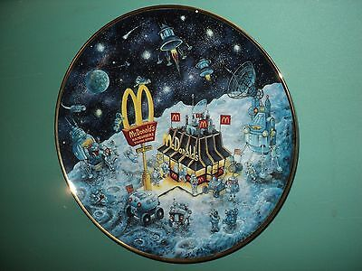 1994 McDonald's Golden Dreams Decorative Collector's Plate by Franklin Mint