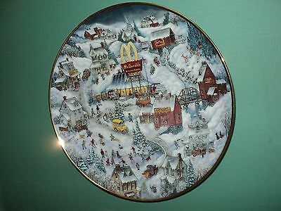 1994 McDonald's Golden Country Decorative Collector's Plate by Franklin Mint