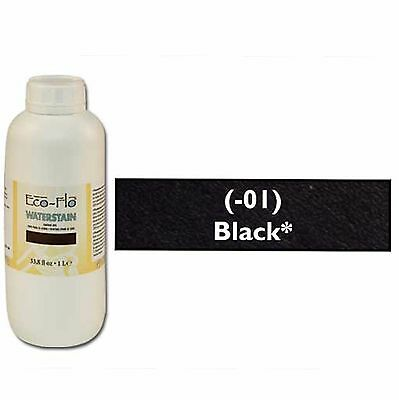 Eco-Flo Professional Waterstain Black 33.8 oz. (1L) 2801-01