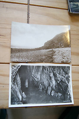 2 Vintage St. Ninian's Cave Isle Of Whithorn Wigtownshire Postcards