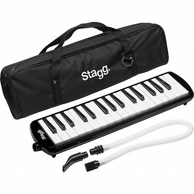 Stagg Melodica 32 Keys Mouthpiece Plastic MELOSTA32 Melodica Reed Keyboard New