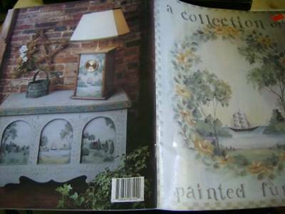 A Collection Of Painted Furniture Painting Book-Saunders- Savannah Sceneries/Win
