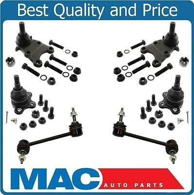 04-12 Colorado Torsion Bar 4x4 Upper & Lower Ball Joints Sway Bar Links 6Pc Kit