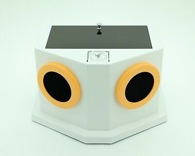 New Portable Manual Chairside Darkroom X-Ray Film Developer - White/yellow