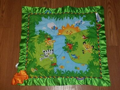 Fisher Price REPLACEMENT MAT ONLY Deluxe Melodies & Lights Baby Rainforest Gym