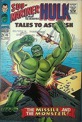 Tales To Astonish # 85, Silver Age Classic, High Grade Copy