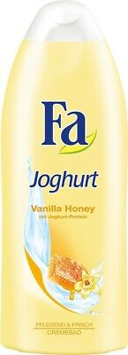 3 x 250ml Fa Dusche Joghurt Vanilla Honey