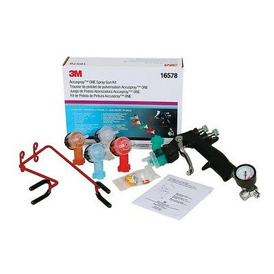 Accuspray ONE Spray Gun Kit 3M-16578 Brand New!