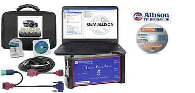 Allison Transmission Software Heavy Duty Diagnostic Laptop DPA 5 Truck Package