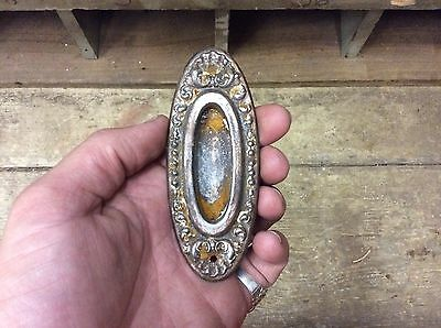 Antique ORNATE Style Recessed Pocket Door HANDLE-WOW-3