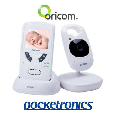 "Oricom SC705 2.4"" Portable Display Video Baby Monitor Wireless Camera Zoom NEW"