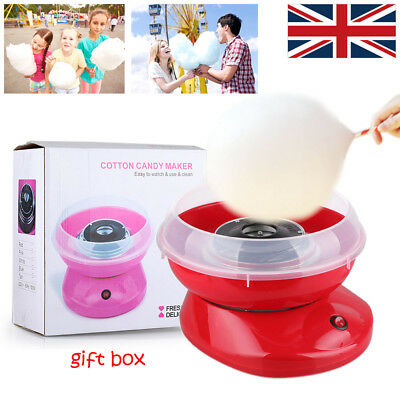 Electric Candyfloss Making Machine Home Cotton Candy Sugar Floss Maker Party DIY
