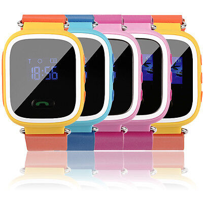 Kids Smart Watch Anti-lost SOS Call GSM Locator GPS Tracker Safe for Android GT