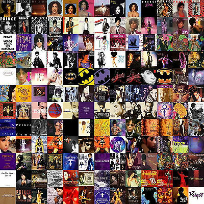 Prince Collage Album Song Music Covers WALL ART CANVAS FRAMED OR POSTER PRINT