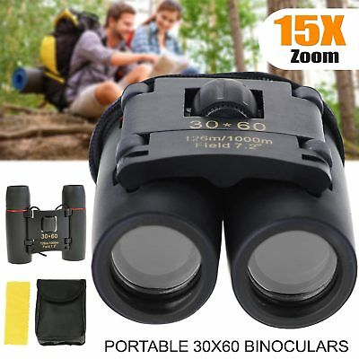 30×60 Binoculars 15 x Zoom Smart  Telescope Foldable UK