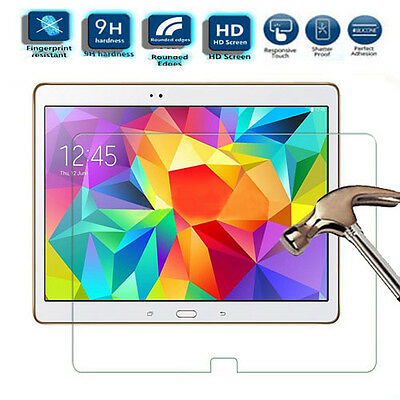 Genuine Tempered Glass Cover Screen Protector For Samsung Tab iPad Sony Xperia
