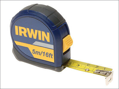 Irwin 10507788 Standard Pocket Tape 5Mtr/16Foot 19Mm Blade Width Qty 1