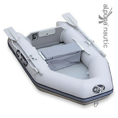 alpuna Nautic iBT 200 AIR GRIS angelboot Gonflable Bateau d'aviron Airmate