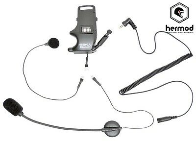 Sena SMH10 Replacement Earbuds Clamp Kit Boom & Wired Microphone - SMHA0304