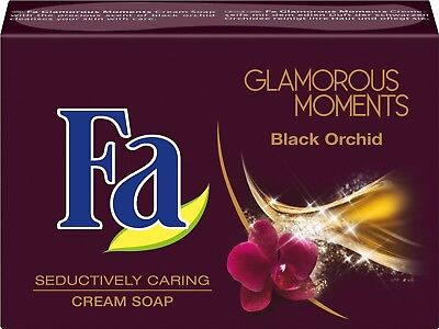 3 x 100g Fa Seife Glamorous Moments Black Orchid