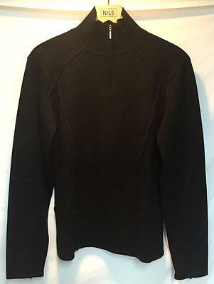 38be07be836dae Nils Women's Larien 5th Avenue Collection Snow Ski Sweater Black Size Large  NEW