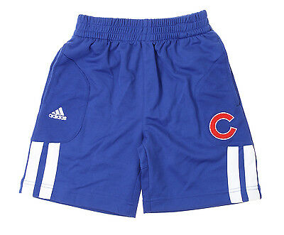 Adidas MLB Kids Chicago Cubs Batters Choice Shorts, Blue