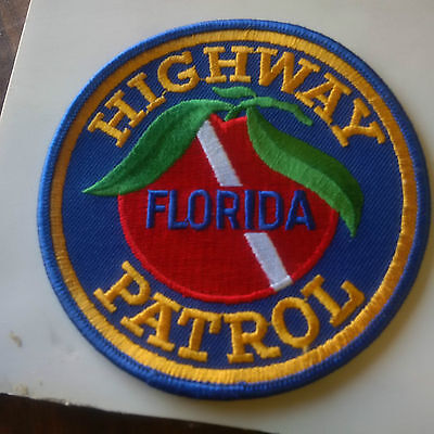 united states police patch florida highway patrol  free shipping