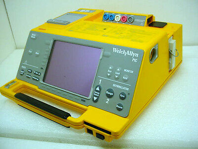 Welch Allyn PIC 50 Defib Monitor P/N: 971084E