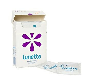 Lunette Disinfecting Menstrual Cup Wipes - Pack of 10