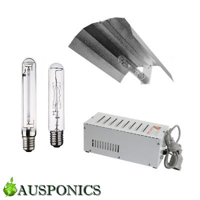 Hydroponics Lighting COMBO 400W MH HPS Grow Light Lamp Magnetic Ballast Shade